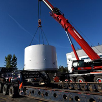 Tunnel Boring Machines Arrive at East Launch Site