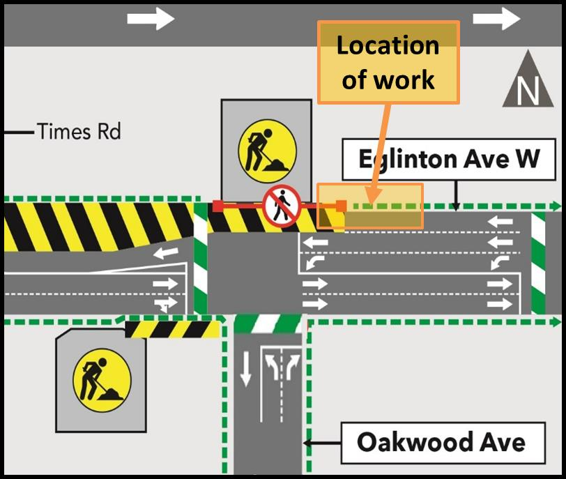 OAKWOOD WATER HOOK UP WORK ZONE